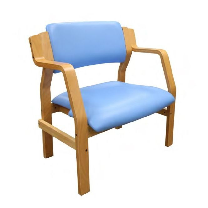 Sunflower Medical Aurora Sky Blue Intervene Bariatric Armchair