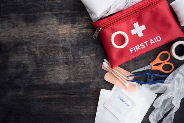 The law requires workplaces, schools, lorry drivers and more to have a first aid kit at hand